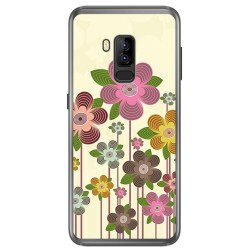 Funda Gel Tpu para Bluboo S8 Plus Diseño Primavera En Flor Dibujos