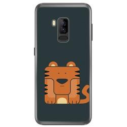 Funda Gel Tpu para Bluboo S8 Plus Diseño Tigre Dibujos