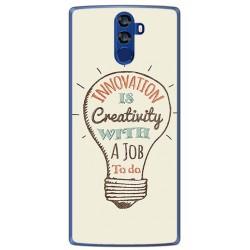 Funda Gel Tpu para Doogee Bl12000 Diseño Creativity Dibujos