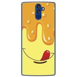 Funda Gel Tpu para Doogee Bl12000 Diseño Helado Vainilla Dibujos
