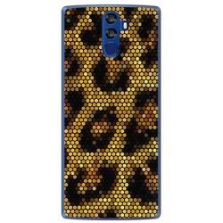 Funda Gel Tpu para Doogee Bl12000 Diseño Leopardo Dibujos