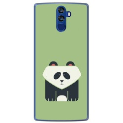 Funda Gel Tpu para Doogee Bl12000 Diseño Panda Dibujos
