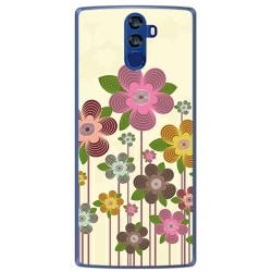 Funda Gel Tpu para Doogee Bl12000 Diseño Primavera En Flor Dibujos