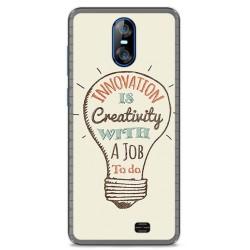 Funda Gel Tpu para Homtom S12 Diseño Creativity Dibujos