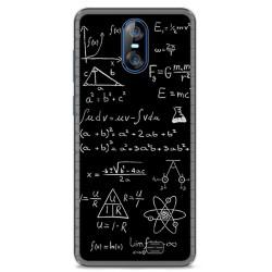 Funda Gel Tpu para Homtom S12 Diseño Formulas Dibujos