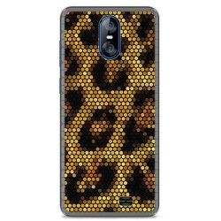 Funda Gel Tpu para Homtom S12 Diseño Leopardo Dibujos