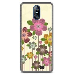 Funda Gel Tpu para Homtom S12 Diseño Primavera En Flor Dibujos