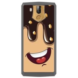 Funda Gel Tpu para Oukitel K10 Diseño Helado Chocolate Dibujos