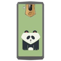 Funda Gel Tpu para Oukitel K10 Diseño Panda Dibujos