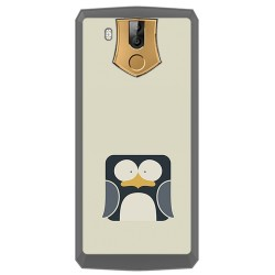 Funda Gel Tpu para Oukitel K10 Diseño Pingüino Dibujos