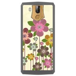 Funda Gel Tpu para Oukitel K10 Diseño Primavera En Flor Dibujos
