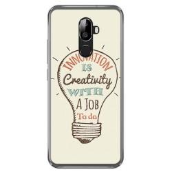 Funda Gel Tpu para Oukitel U18 Diseño Creativity Dibujos