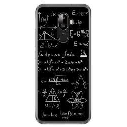 Funda Gel Tpu para Oukitel U18 Diseño Formulas Dibujos