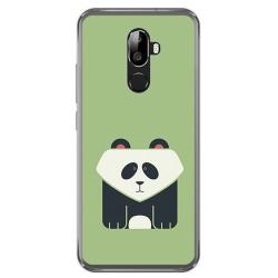 Funda Gel Tpu para Oukitel U18 Diseño Panda Dibujos