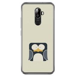 Funda Gel Tpu para Oukitel U18 Diseño Pingüino Dibujos