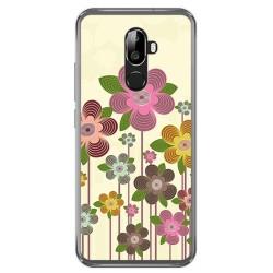 Funda Gel Tpu para Oukitel U18 Diseño Primavera En Flor Dibujos