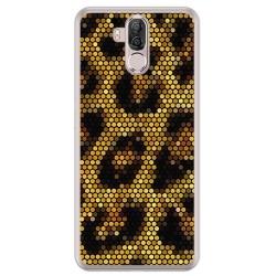 Funda Gel Tpu para Ulefone Power 3 / 3S Diseño Leopardo Dibujos
