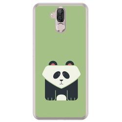 Funda Gel Tpu para Ulefone Power 3 / 3S Diseño Panda Dibujos