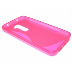 Funda Gel Tpu Lg Optimus G2 D802 S Line Color Rosa
