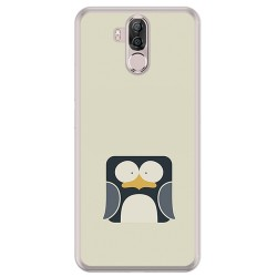 Funda Gel Tpu para Ulefone Power 3 / 3S Diseño Pingüino Dibujos