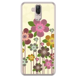 Funda Gel Tpu para Ulefone Power 3 / 3S Diseño Primavera En Flor Dibujos