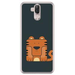 Funda Gel Tpu para Ulefone Power 3 / 3S Diseño Tigre Dibujos