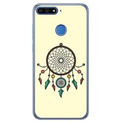 Funda Gel Tpu para Huawei Honor 7A / Y6 2018 Diseño Atrapasueños Dibujos