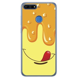 Funda Gel Tpu para Huawei Honor 7A / Y6 2018 Diseño Helado Vainilla Dibujos
