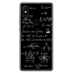Funda Gel Tpu para Xiaomi Mi Mix 2S Diseño Formulas Dibujos