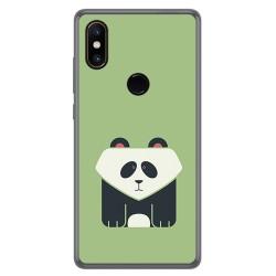 Funda Gel Tpu para Xiaomi Mi Mix 2S Diseño Panda Dibujos