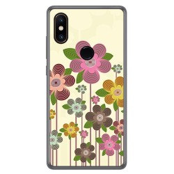 Funda Gel Tpu para Xiaomi Mi Mix 2S Diseño Primavera En Flor Dibujos