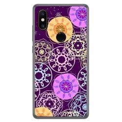 Funda Gel Tpu para Xiaomi Mi Mix 2S Diseño Radial Dibujos