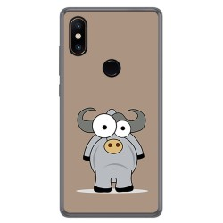Funda Gel Tpu para Xiaomi Mi Mix 2S Diseño Toro Dibujos