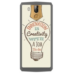 Funda Gel Tpu para Oukitel K10 Diseño Creativity Dibujos