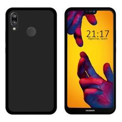 Funda Gel Tpu para Huawei P20 Lite Color Negra