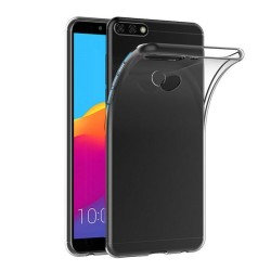 Funda Gel Tpu Fina Ultra-Thin 0,5mm Transparente para Huawei Honor 7C / Y7 2018