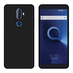 Funda Gel Tpu para Alcatel 3V Color Negra
