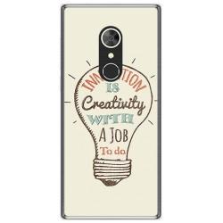 Funda Gel Tpu para Alcatel 5 Diseño Creativity Dibujos