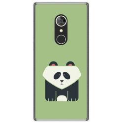 Funda Gel Tpu para Alcatel 5 Diseño Panda Dibujos