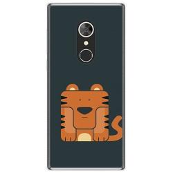 Funda Gel Tpu para Alcatel 5 Diseño Tigre Dibujos