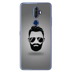 Funda Gel Tpu para Alcatel 3V Diseño Barba Dibujos