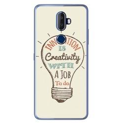 Funda Gel Tpu para Alcatel 3V Diseño Creativity Dibujos