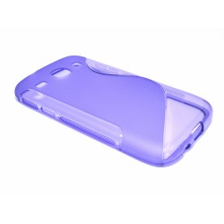 Funda Gel Tpu Samsung Galaxy Core I8260 S Line Color Morada