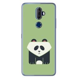 Funda Gel Tpu para Alcatel 3V Diseño Panda Dibujos