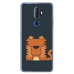 Funda Gel Tpu para Alcatel 3V Diseño Tigre Dibujos