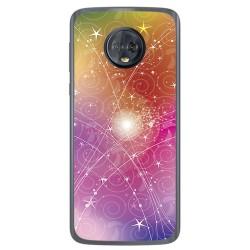Funda Gel Tpu para Motorola Moto G6 Diseño Abstracto Dibujos