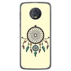 Funda Gel Tpu para Motorola Moto G6 Diseño Atrapasueños Dibujos