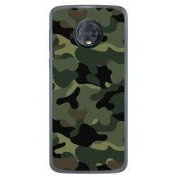 Funda Gel Tpu para Motorola Moto G6 Diseño Camuflaje Dibujos