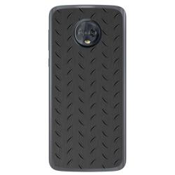 Funda Gel Tpu para Motorola Moto G6 Diseño Metal Dibujos