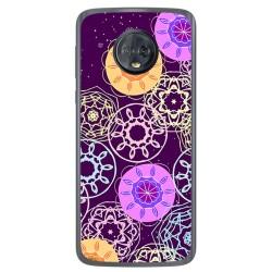 Funda Gel Tpu para Motorola Moto G6 Diseño Radial Dibujos